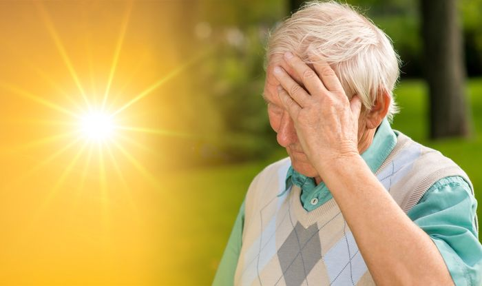 Vitamin D deficiency symptoms: A sweaty head could mean you