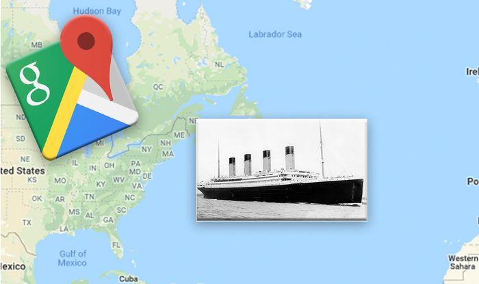 Google Maps: EXACT location of the Titanic wreckage revealed ahead ...
