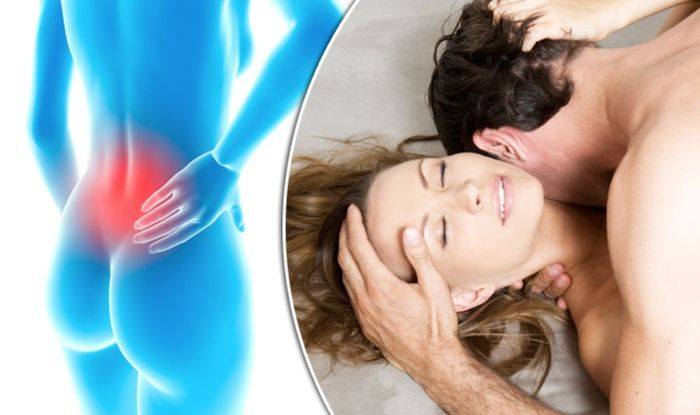 Back pain relief? This is why SEX could be the treatment you