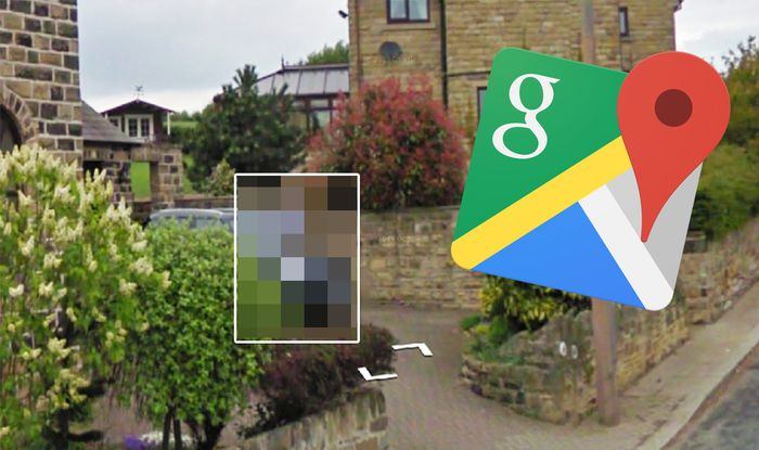 Google Maps Street View: Man caught spying on his neighbours