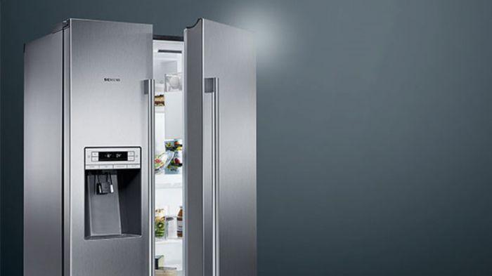 Amerikanischer Kühlschrank Breite : Side by side kühlschrank marquardt küchen