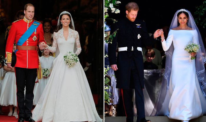 Kate Middleton V Meghan Markle Wedding Whose Dress Was The
