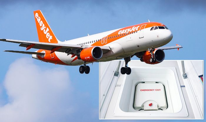 Easyjet Flights Passenger Sparks Panic As He Tries To Open Plane