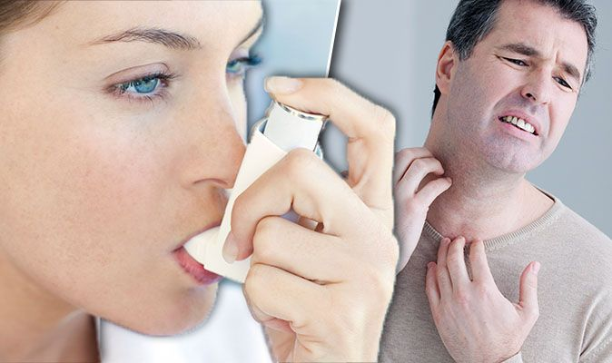 Asthma symptoms: Lung condition signs include itchy throat