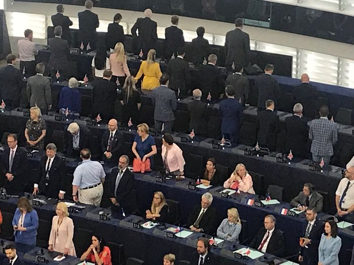 Do You Agree With BREXIT Party MEPs Turning Their Backs To