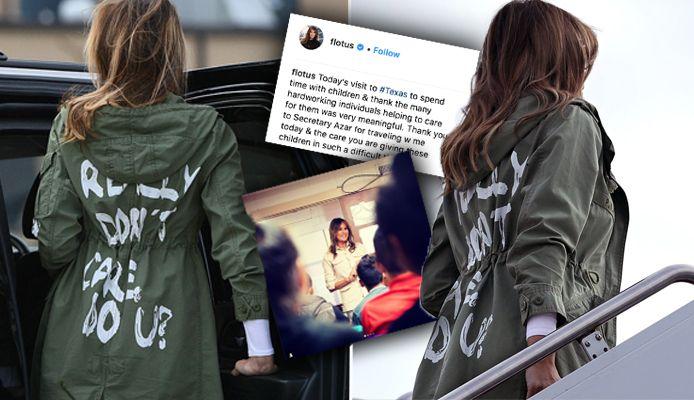Melania Trump: Taking to Instagram Melania brushed off the