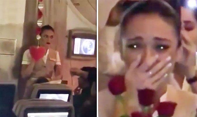 Emirates Flights Cabin Crew Shocked When Her Boyfriend