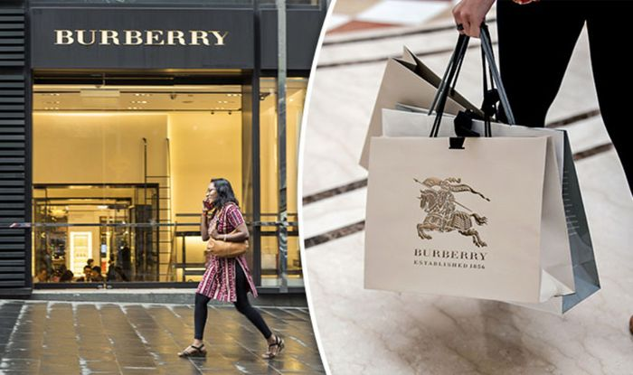 bad682f6bfd5 Brexit BOOST for Burberry  Luxury brand reports 40 per cent trading ...