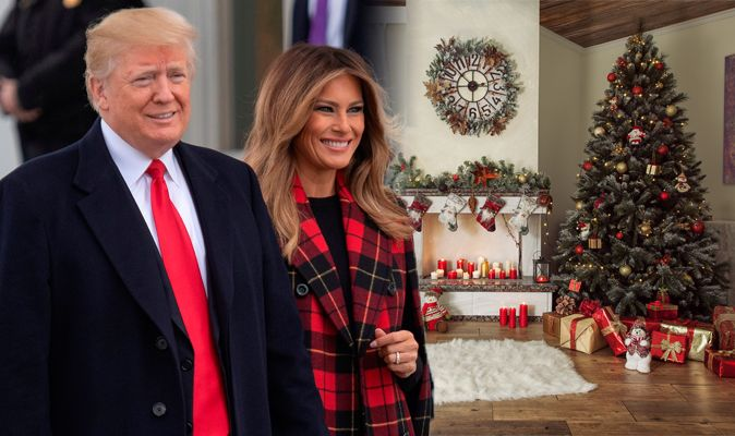 Trump Christmas.Melania And Donald Trump News How Us President And First