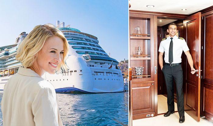 do cruise ship crew hook up