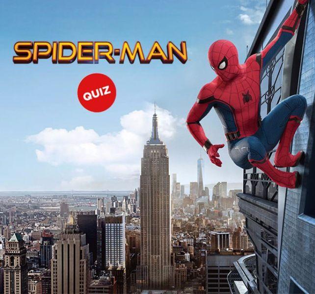 Spider Man Quiz · My Movies