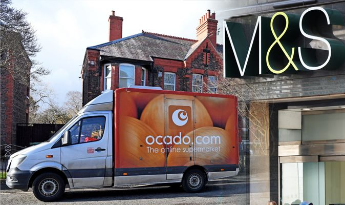 Marks And Spencer Food Ocado Replace Waitrose With Ms For