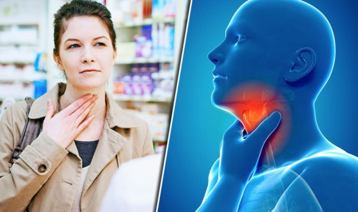 Sore throat remedies: Cheap spray could relieve flu symptoms