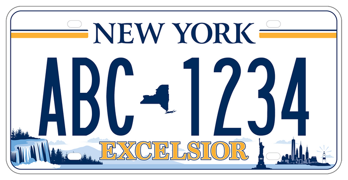 Winning Nys License Plate Design Features More Than Just The