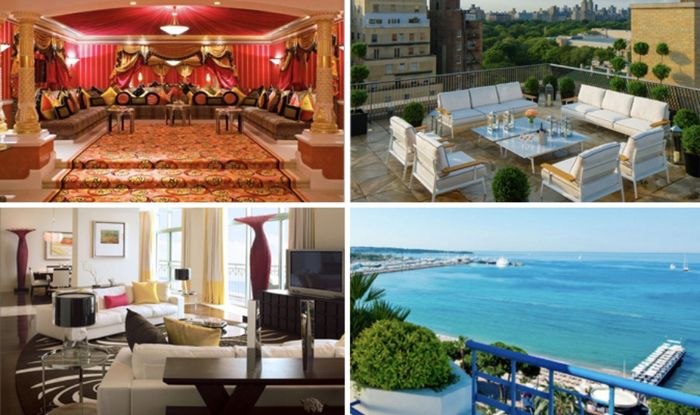 World's most expensive hotel suites from NYC to France and