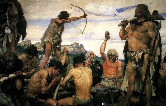 stone age bronze age iron age timeline